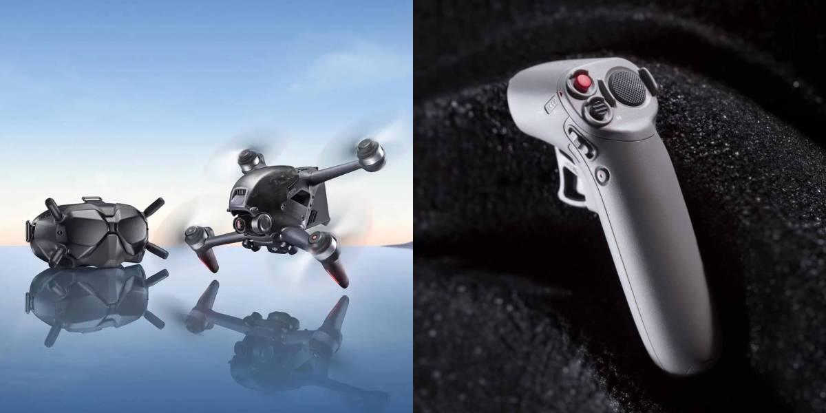 DJI court FPV drone