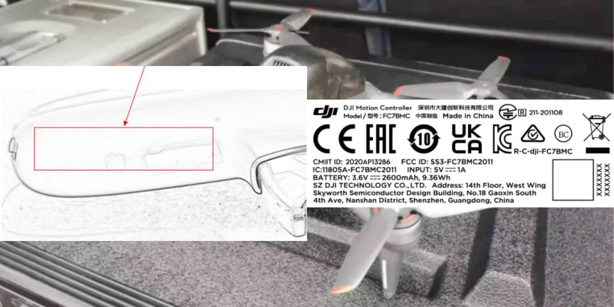DJI's Motion Controller FPV drone