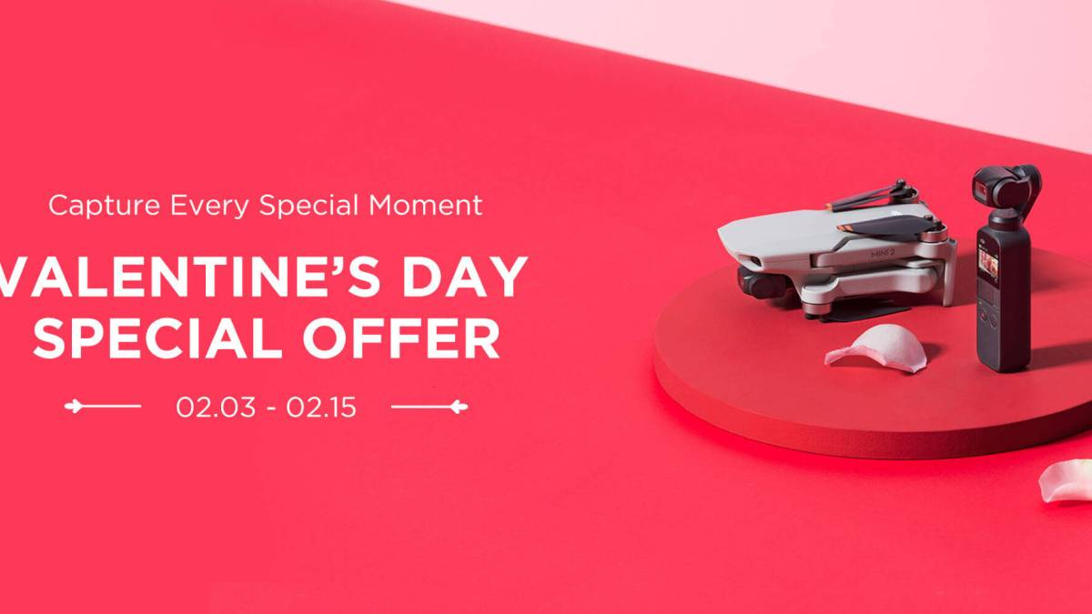DJI's Valentines Day offerings