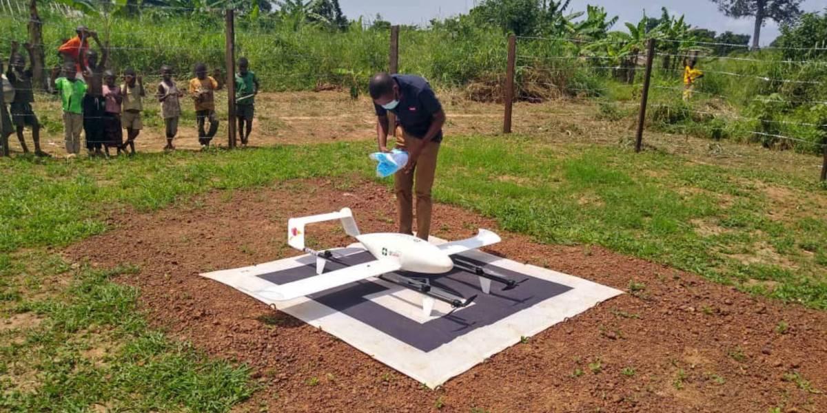 DR Congo's medical delivery drones