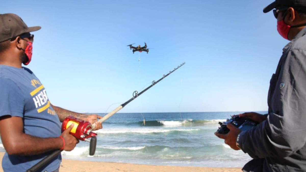 Drone fishing refuges