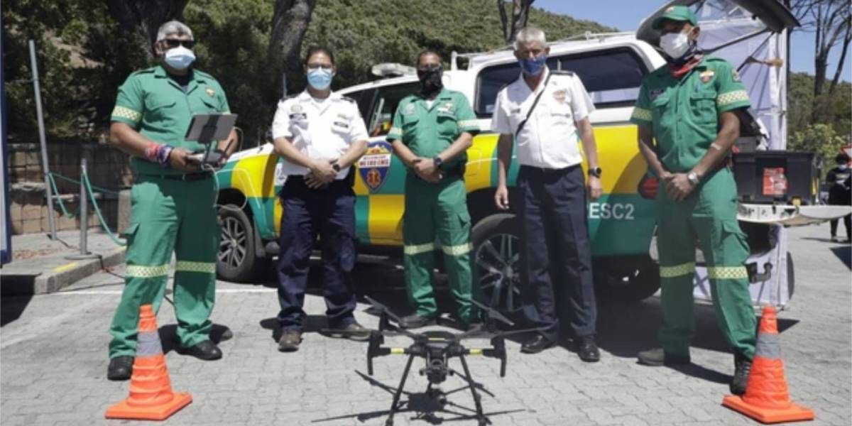 Drones save South African patients