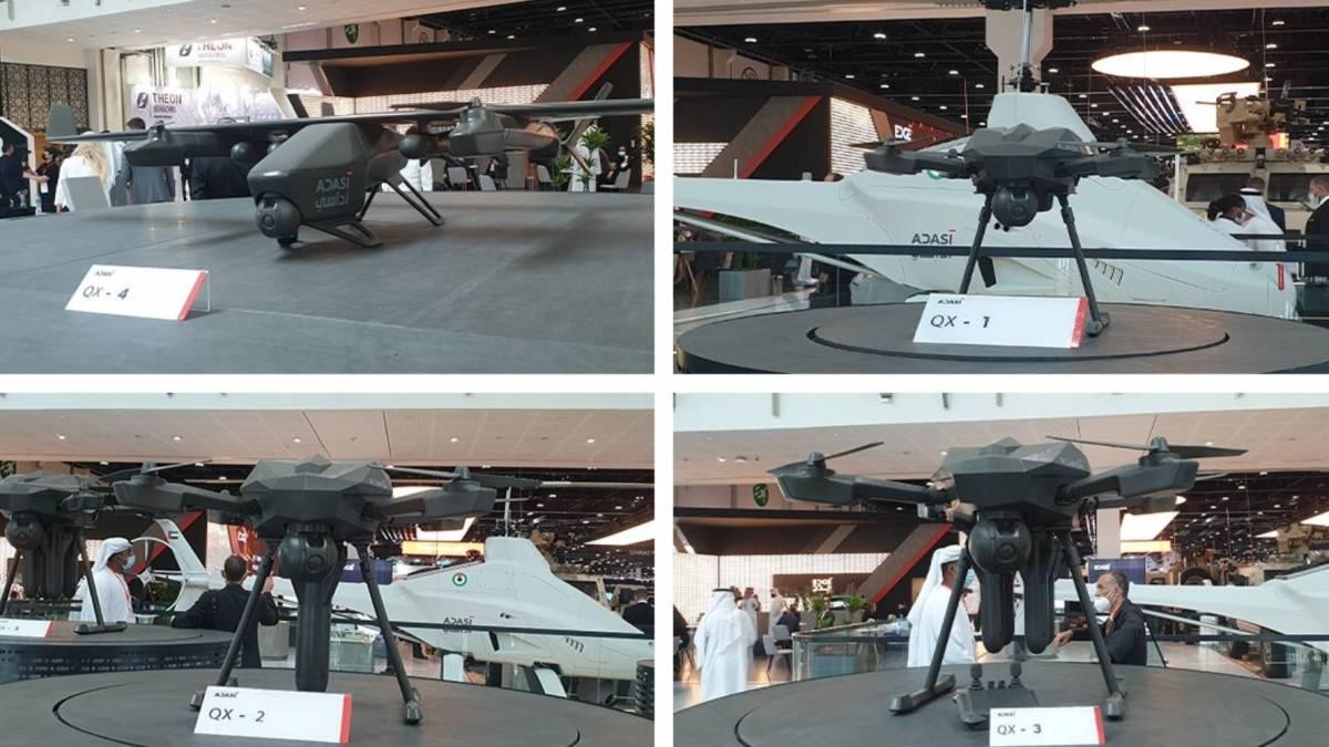 Edge Group QX kamikaze drones