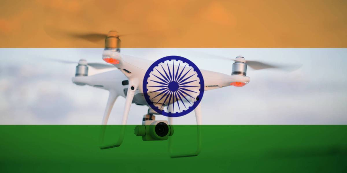 Indian private low-airspace drone controllers