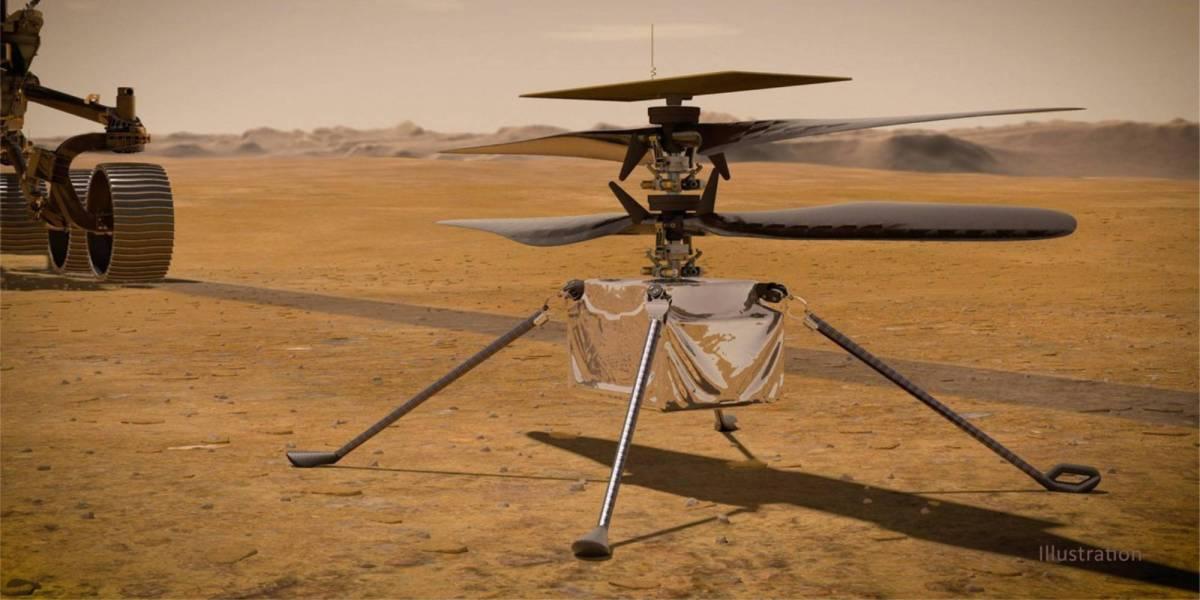 NASA's Ingenuity Mars drone