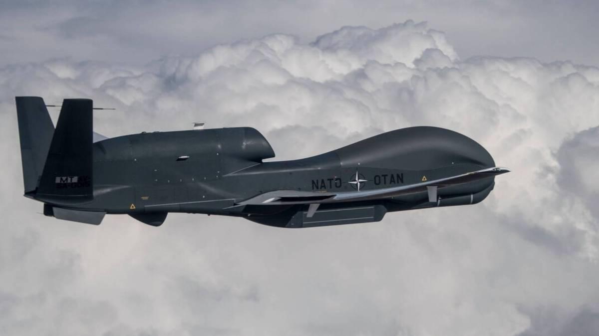 NATO's surveillance drones