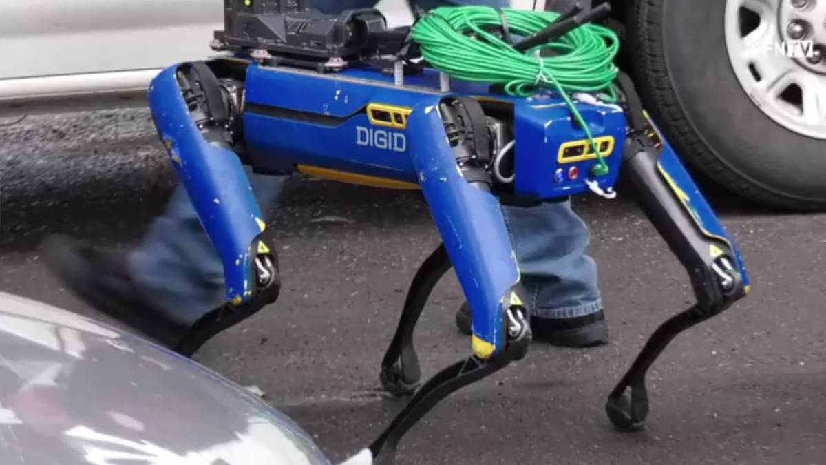 NYPD's Spot robot Bronx