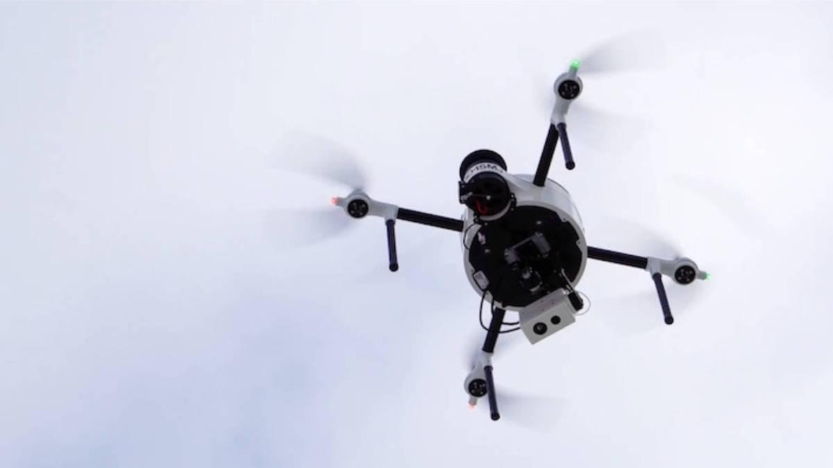 Port Antwerp autonomous drones