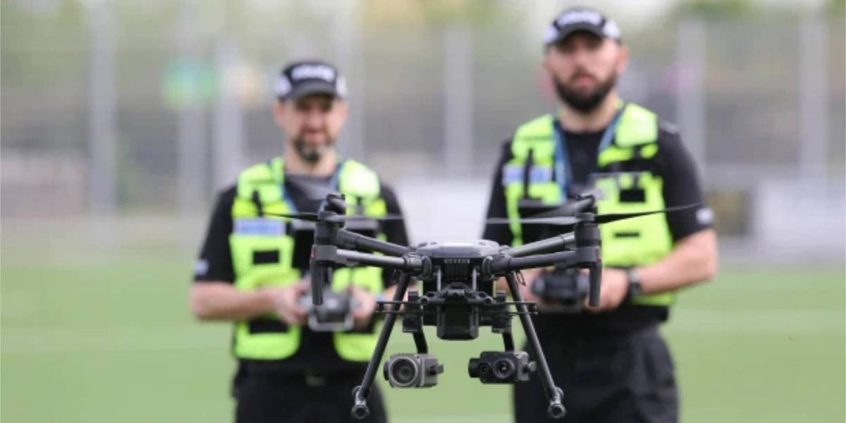 Norfolk police drone
