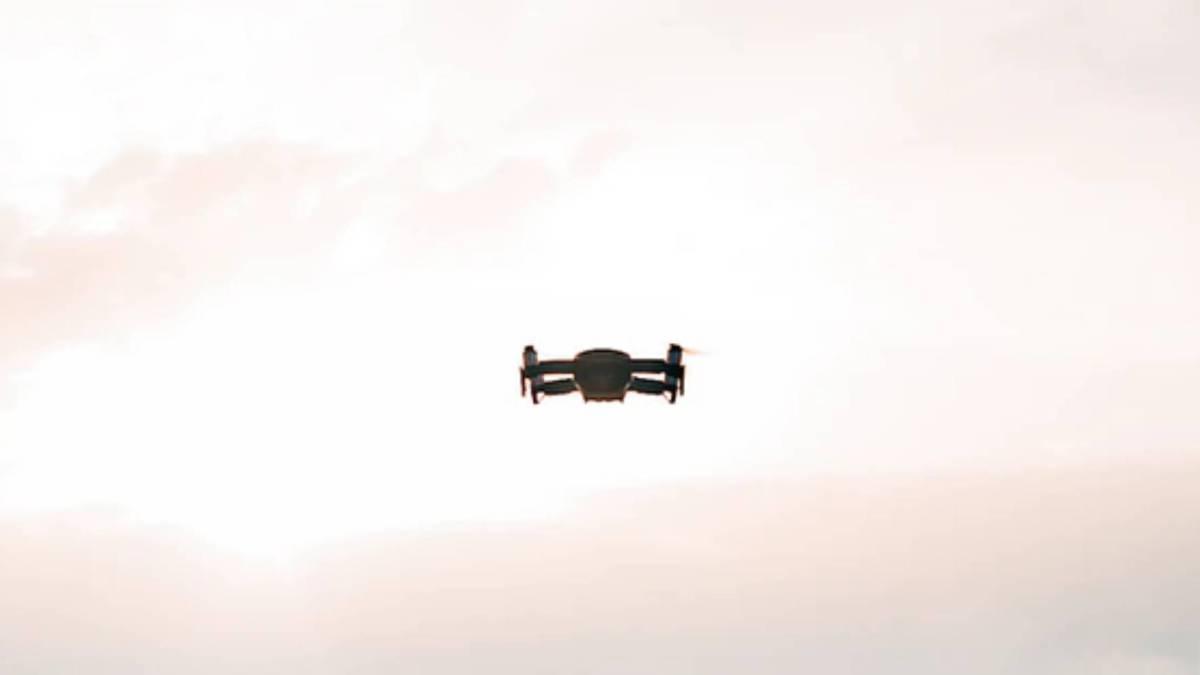 Super Bowl drone