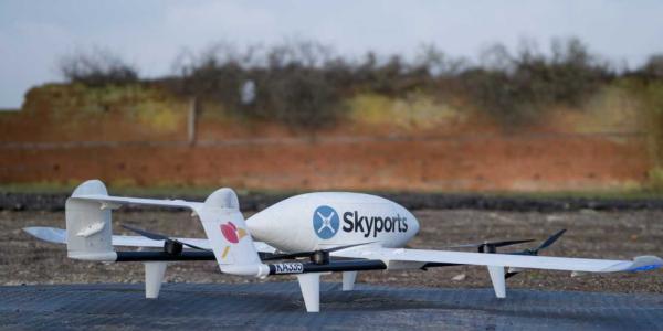 drone delivery organs