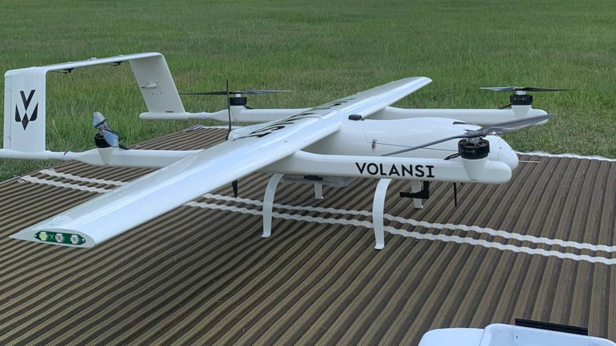 Volansi BEYOND drone integration
