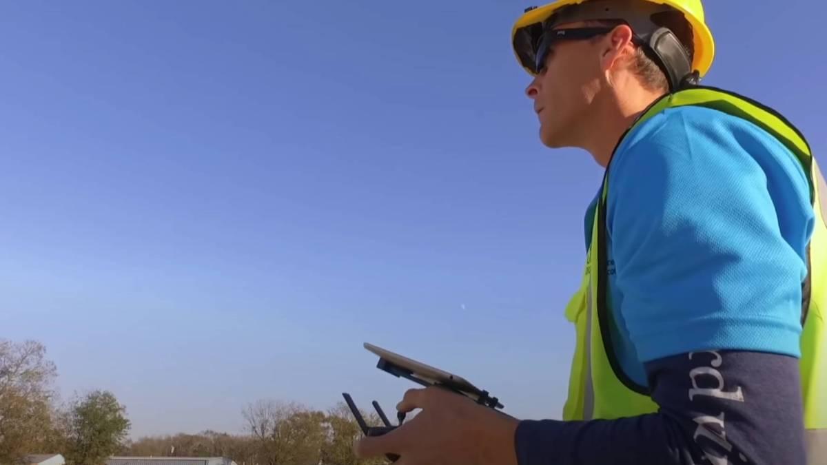 Aerial mapper surveying board