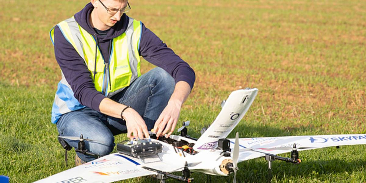 British drone delivery network