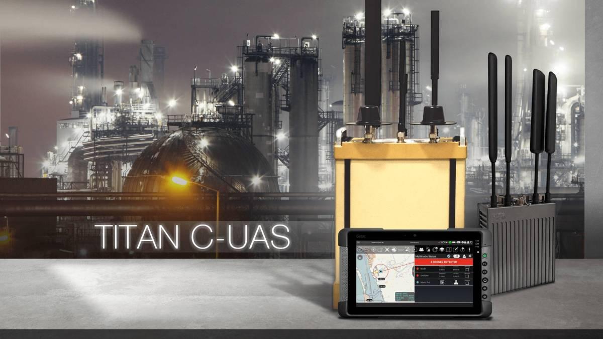 Citadel Defense counter-drone software