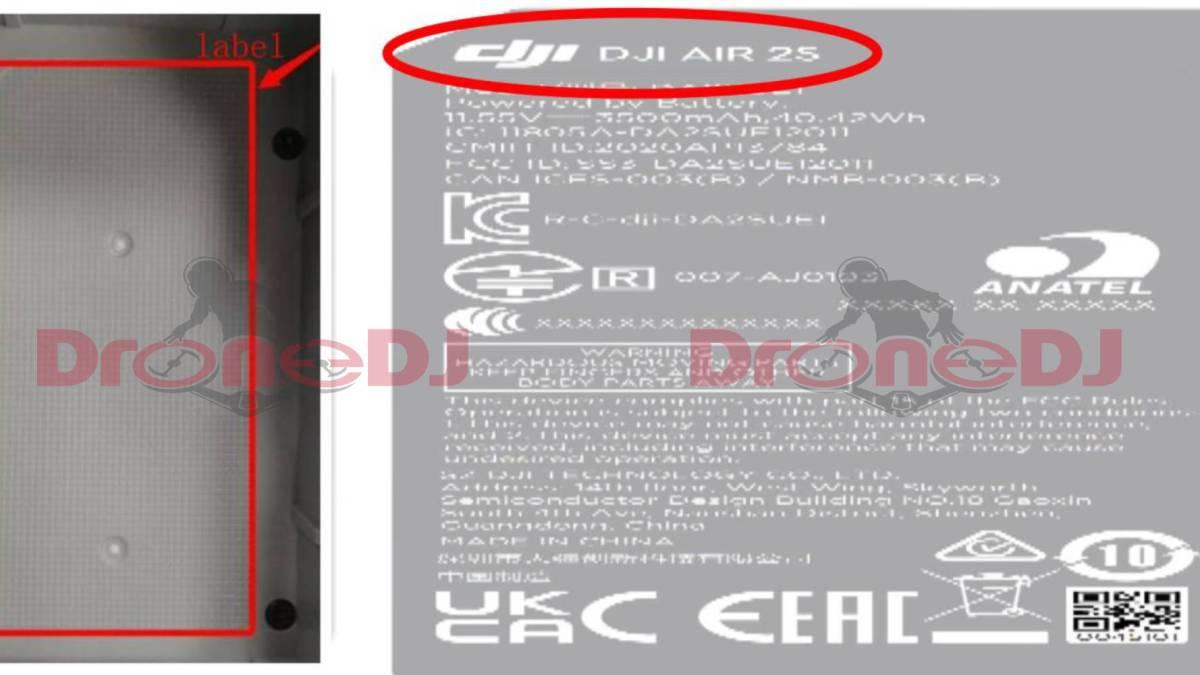 DJI AIR 2S FCC