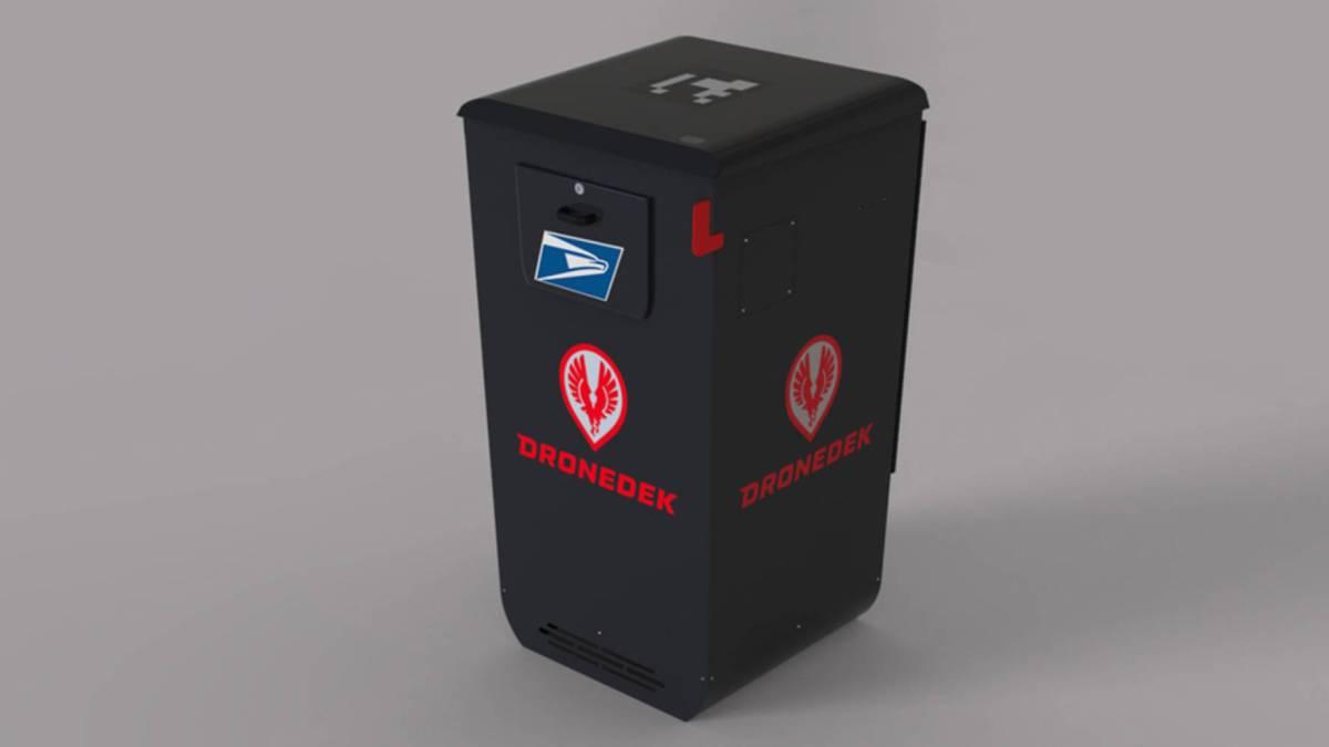 DRONEDEK drone-friendly mailbox