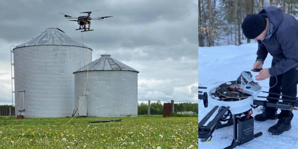 Drones Northwoods kids internet