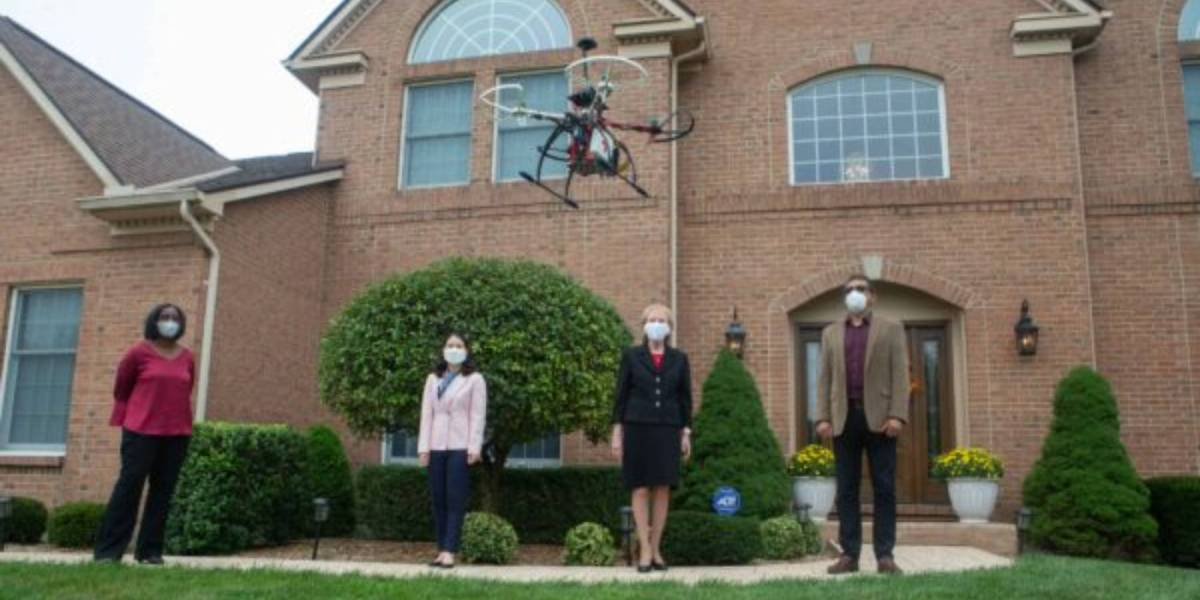 Drones deliver telehealth devices