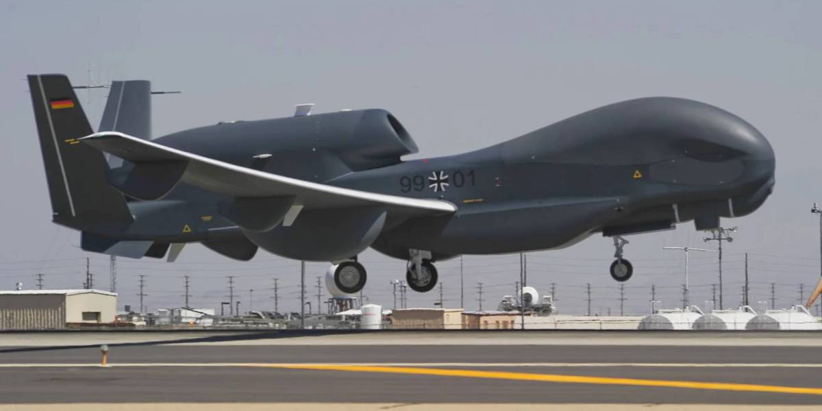 Euro Hawk drone museum
