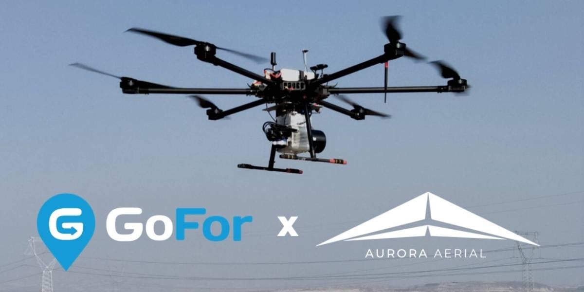 GoFor Aurora Aerial drone