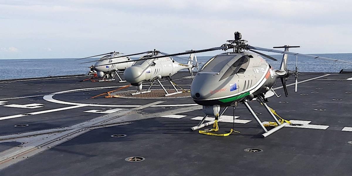 Helicopter drones Australian Navy's