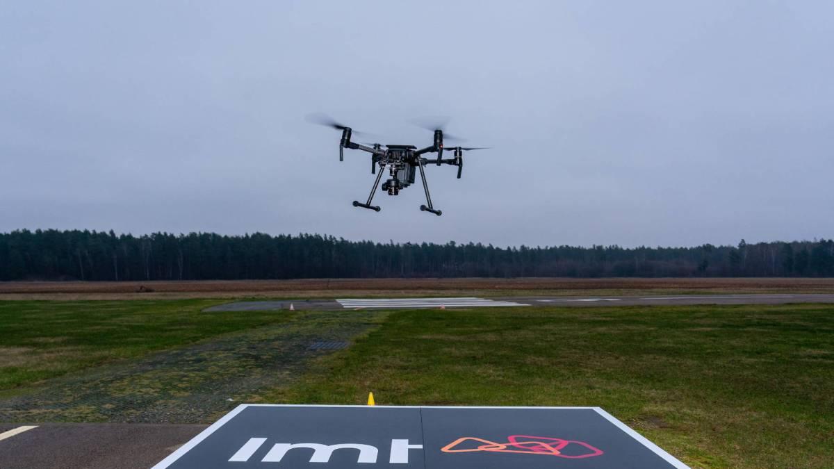 LMT Dimetor drones airspace