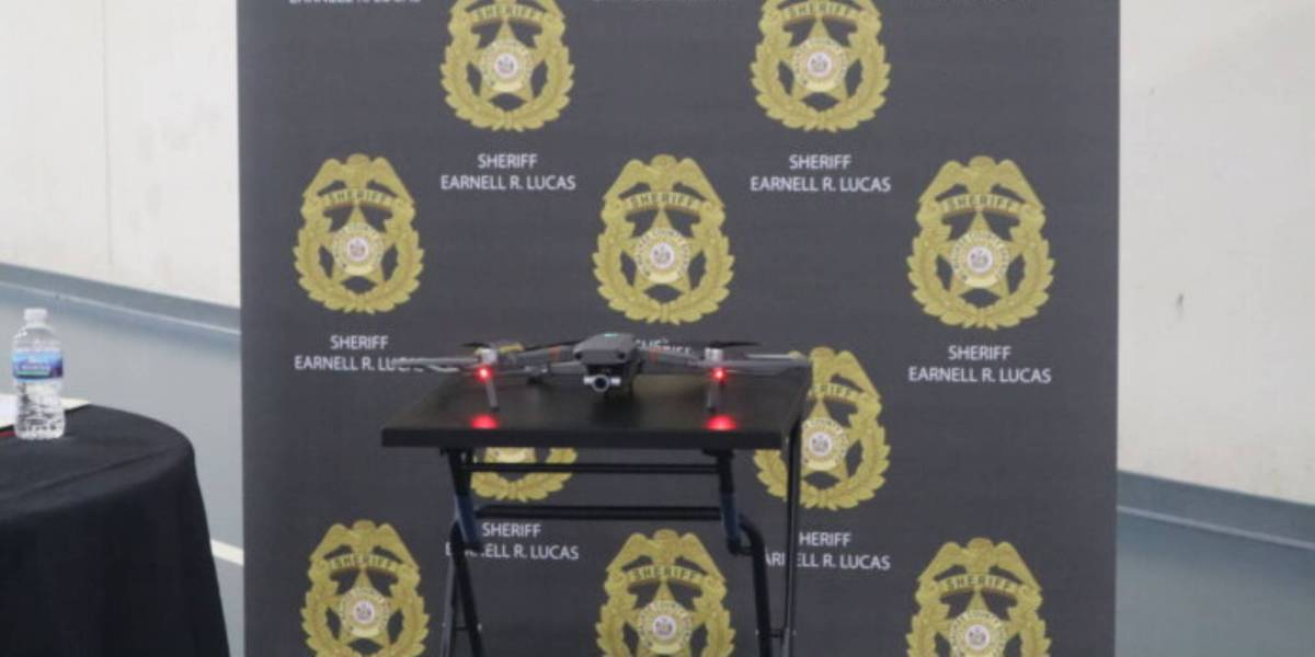 Milwaukee Sheriff department drone
