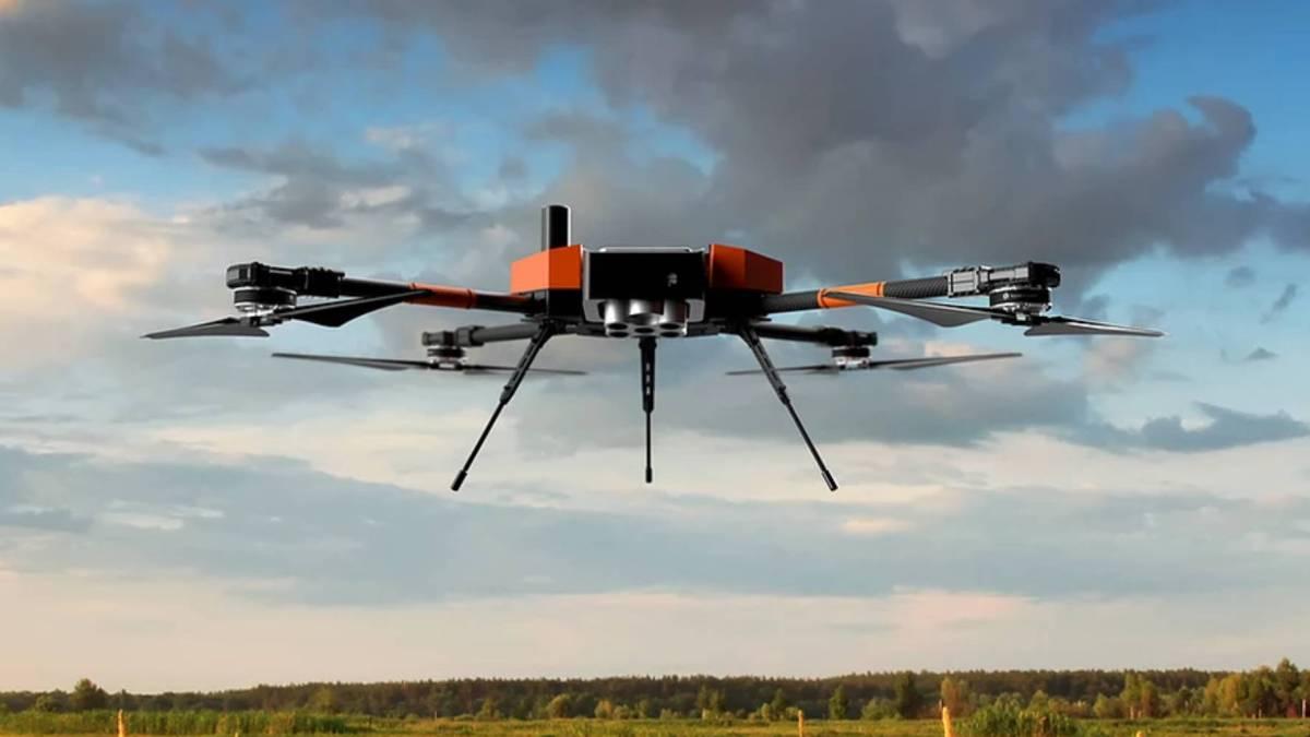 Nuvem UAV Spectral 2