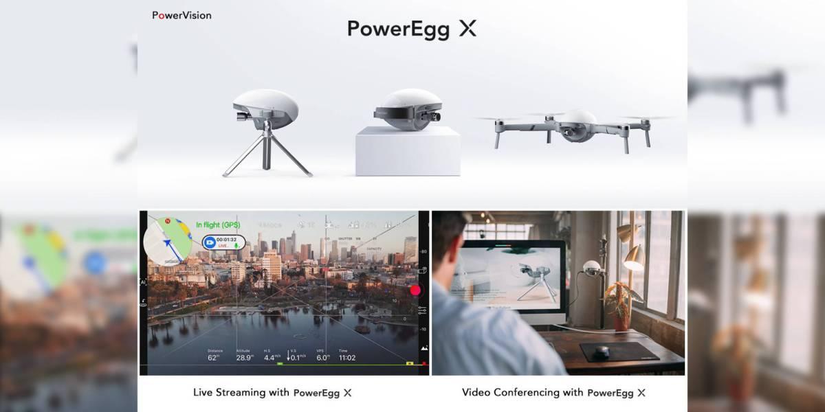 PowerVision PowerEgg live video