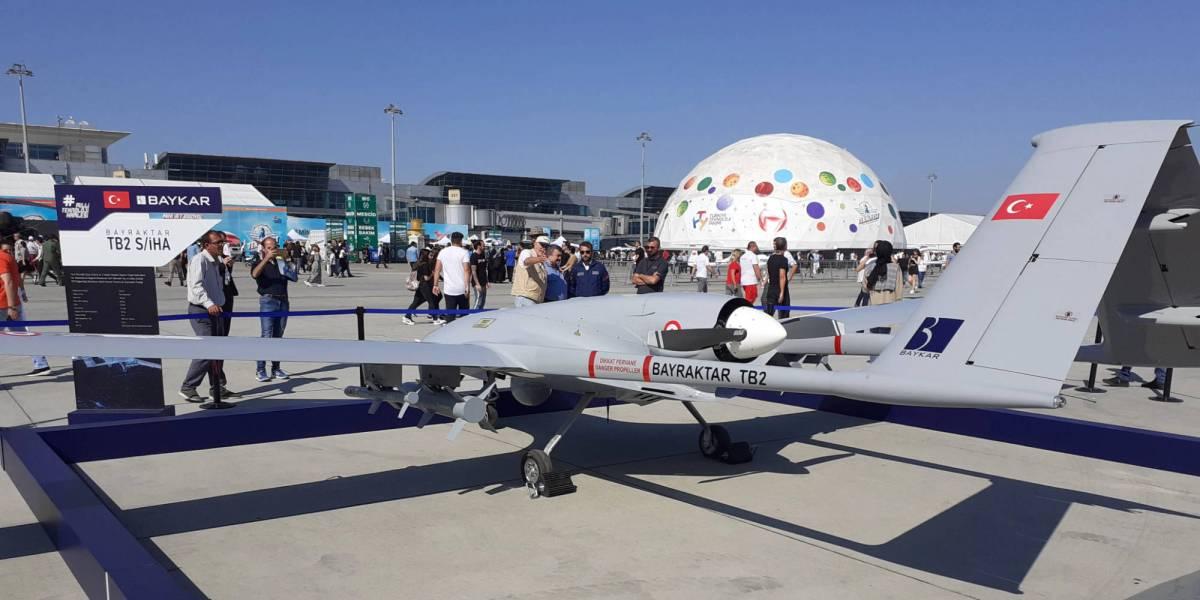 Saudi Arabia drones Turkey