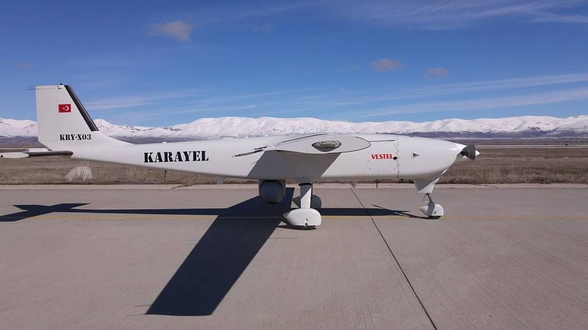 Saudi Turkey's Karayel-SU drone