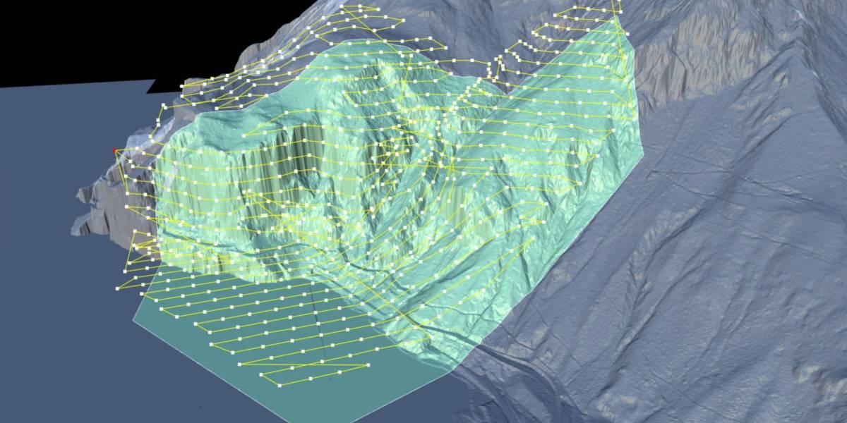 Swiss Railways drones rockslides