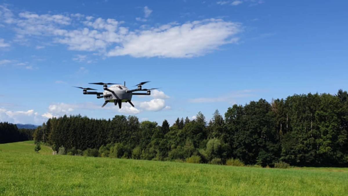 Swiss company drones weather