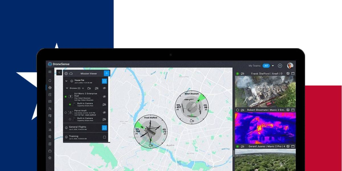 Texas DoPS DroneSense contract