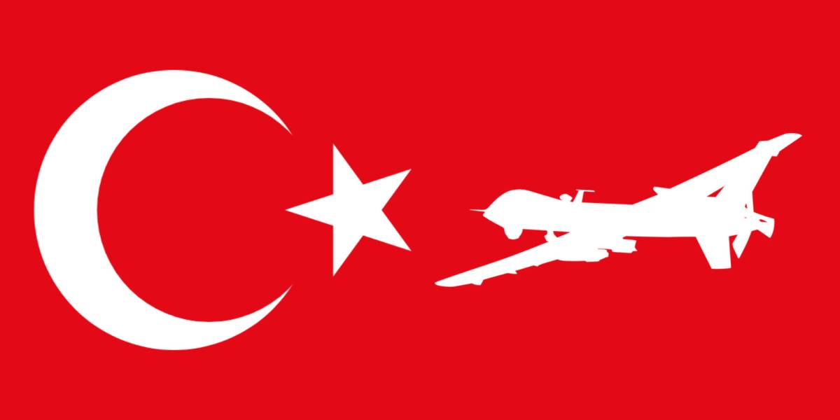 Turkey drones assault ships