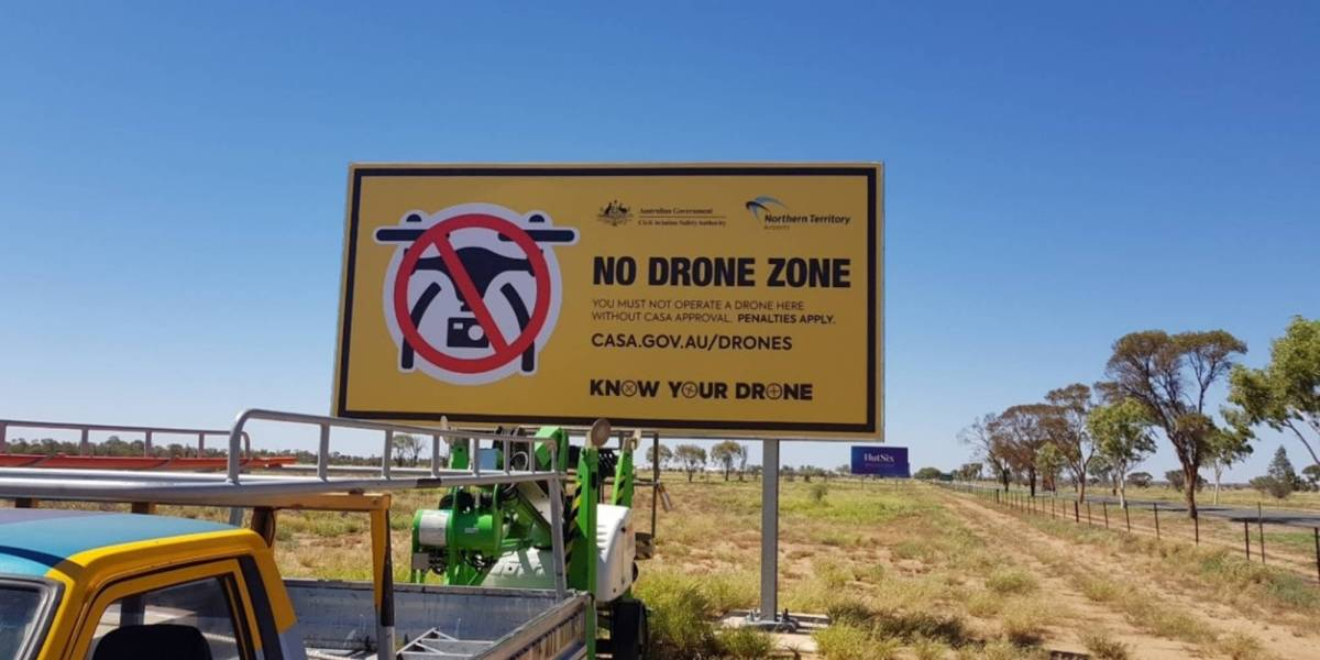 CASA drone safety airports