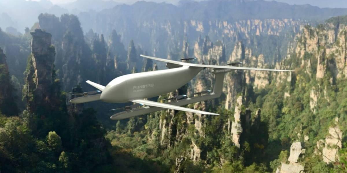 Honeywell Pipistrel's cargo drone