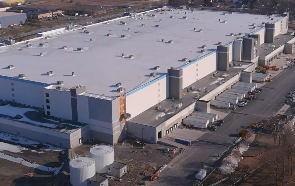 Massive Amazon Warehouse