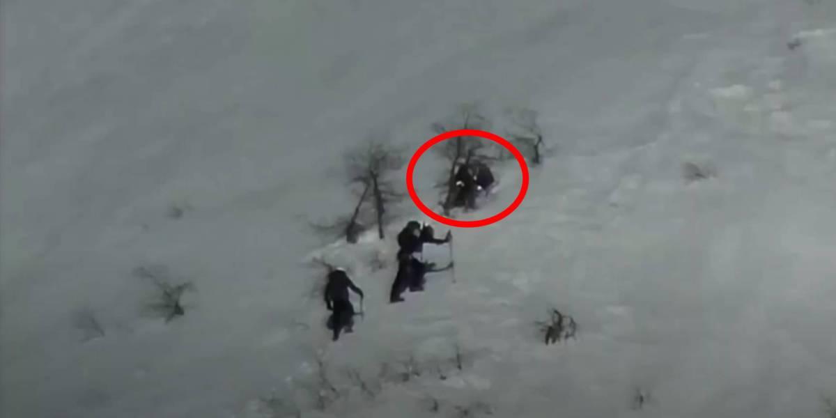 Stranded couple drone Utah