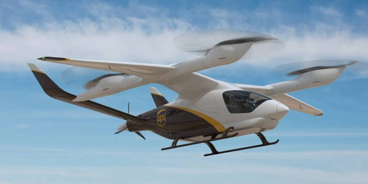 UPS drones Beta Technologies
