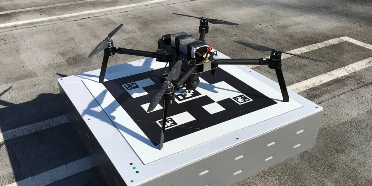 WiBotic CE drone charging