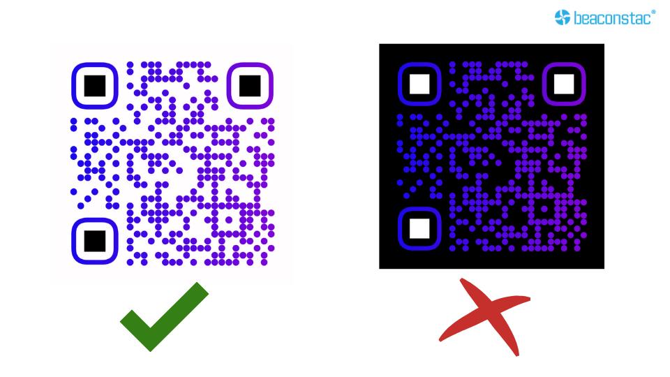 Drone QR codes