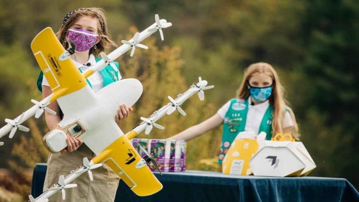 drones girl scout cookies