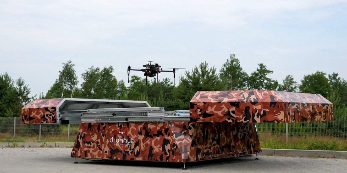 AI drone inspection
