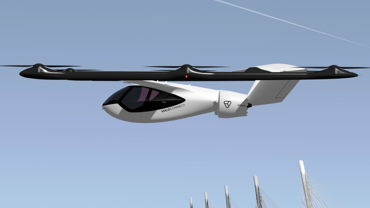 Volocopter Geely UAM China