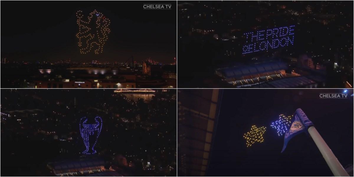 Chelsea drone light show