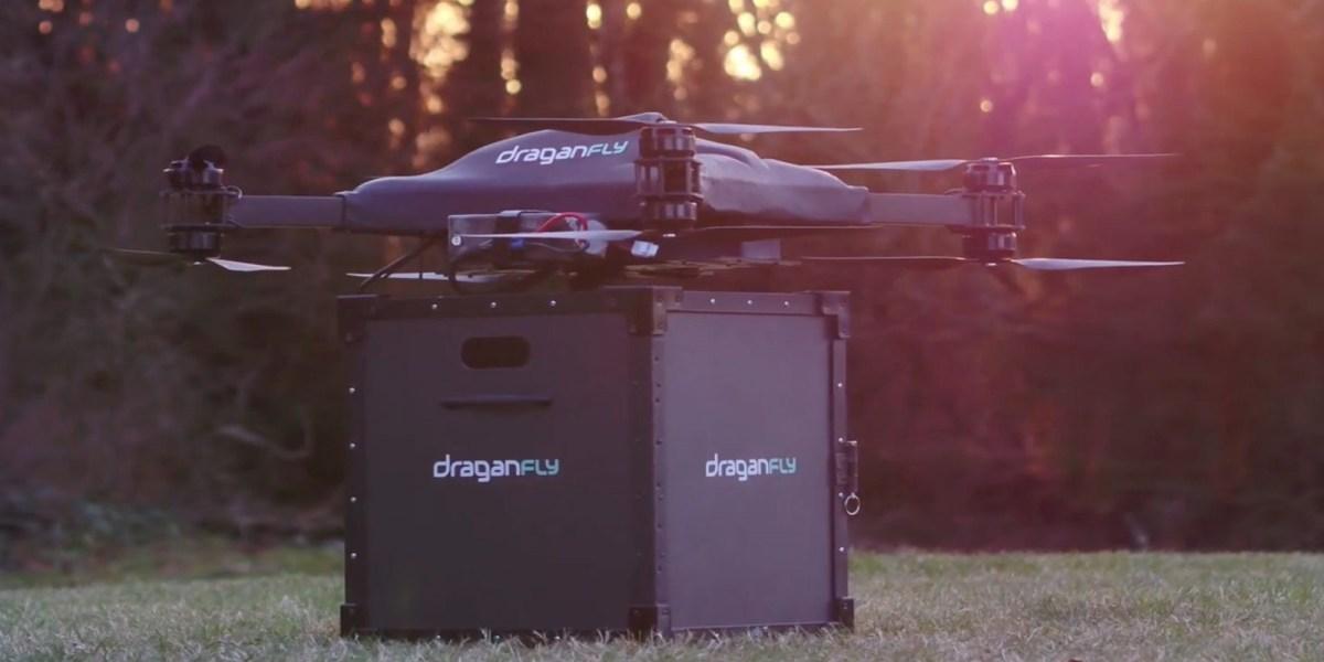 COVID-19 vaccine drone delivery