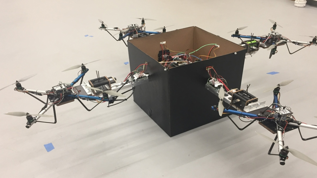 drone delivery swarms