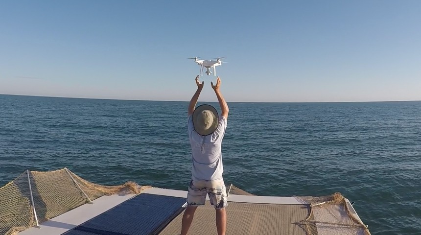 marine research drones